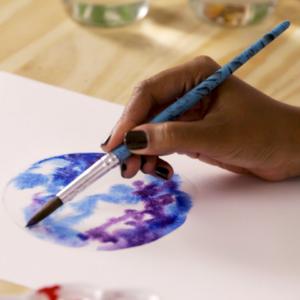 curso de pintura em aquarela